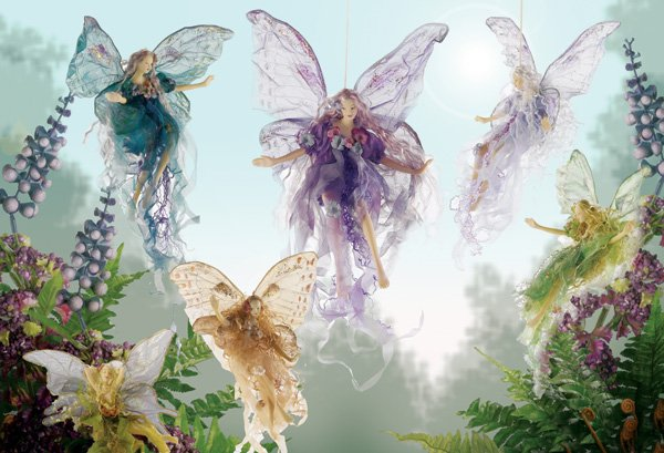 image of fairies for flash fiction story